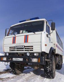 ciężarówka marki Kamaz
