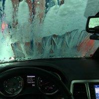 w myjni samochodowej