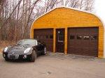 garaż metalowy